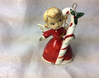 Bell Angel with Candy Cane Wales?