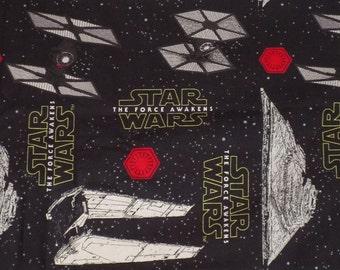 Black Star Wars Pillowcase