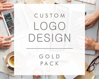 Custom Logo Design (Gold Pack - 3 concepts) - Professional branding for your business - Custom and one of a kind