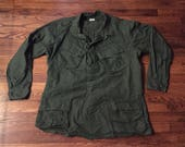 Vietnam Era Military Issue Slant Pocket BDU Shirt