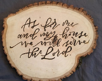 Bible Verse Wood Burning Etsy
