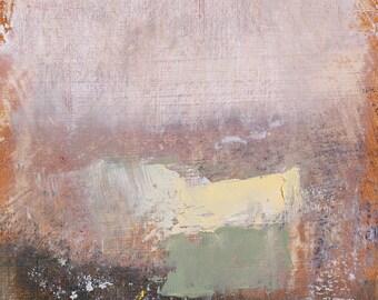 "Original Abstract Oil Painting,  ""Studio"" , 12""x9"", by  artist John Kelley"