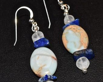 Ocean Dreams Opal Earrings