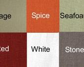 24 Colors Linen Drapes SALE>>> European Linen curtains  2 Story Extra Long Custom Made  European Linen