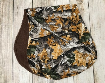 Hunting Camo Burp Cloth