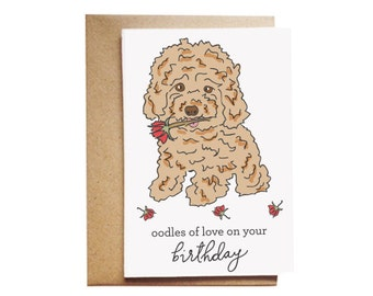 Oodles of love on your birthday Card