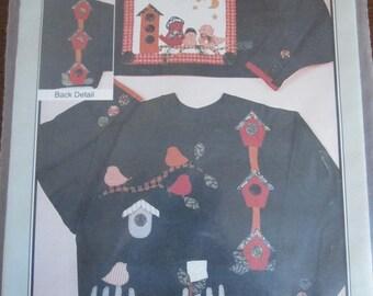 For the Birds Sweatshirt Applique