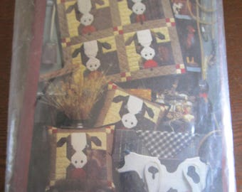 Baby Bovines Quilt/Pillow Pattern