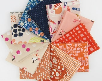 Cotton + Steel February Remix Fat Quarter Bundle - 12 Fat Quarters - 3 Yards Total