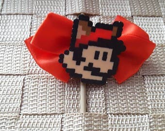 Tanooki Mario Hair Bow