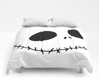 Nightmare Before Christmas Bedding Duvet Jack Skellington Bed