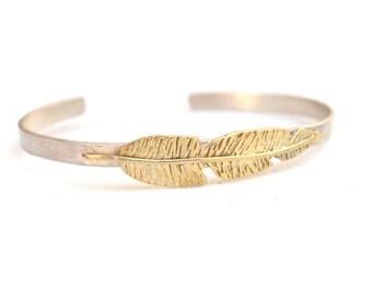 Flight Bracelet - Feather Cuff - Mystical Collection