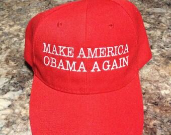 Make America Obama Again Baseball Hat