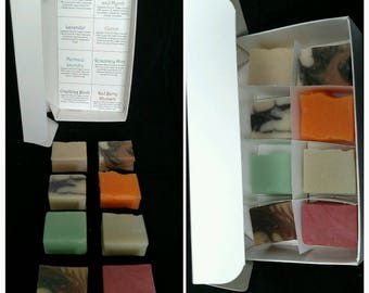 Coconut Milk Soap Sample Box