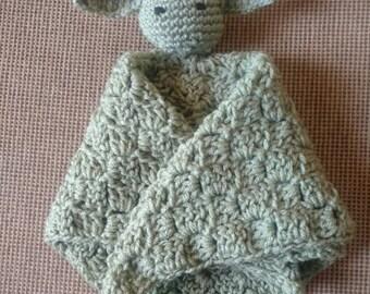 Yoda inspired crochet lovey