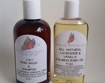 Baby Wash & Shampoo 2 in 1