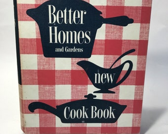 Better Homes and Gardens New Cookbook 1st Edition, 8th Printing 1953 EUC
