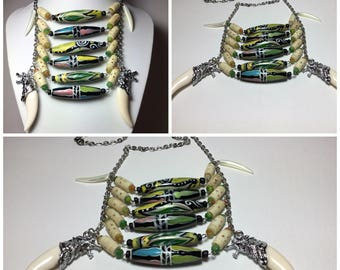 Native American inspired Necklace.