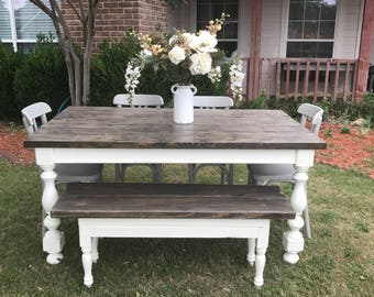 Farmhouse table set