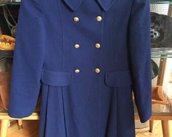 1960's Vintage Blue Rothschild of Philadelphia Childs Blue Coat