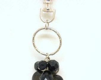 Handbag Charm  Heart Murano Glass- 6542