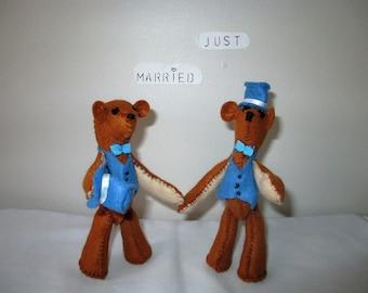 Same Sex Wedding Cake Toppers, Civil partnership, Gay wedding