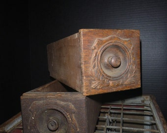 Vintage Wooden Box (2 in the set)