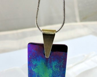 Titanium pendant,