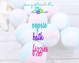 Bath Fizzies - Bath Bombs - Surprise Bath Bombs - Bath Fizzy - Bath Fizzers - Oops Bath Bombs - Oopsie Bath Fizzies - Sale Bath Fizzies