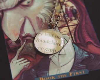 Baudelaire, A Series of Unfortunate Events | Cabochon Necklace