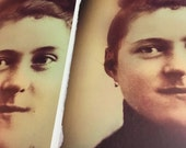 St. Therese of Lisieux Portrait (hair up) 11x17 or 8.5x11 inches Poster. New and Unique Inspirational Image of Devotion