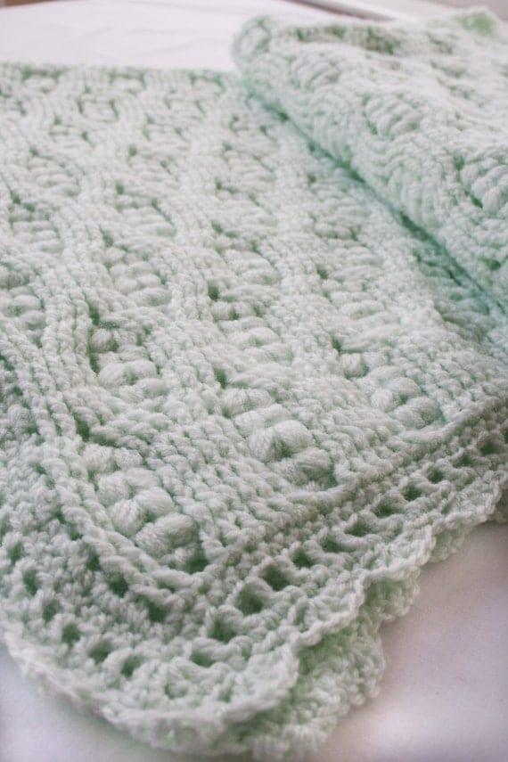 Handmade Baby Gifts Ireland : Items similar to irish handmade crochet baby blanket