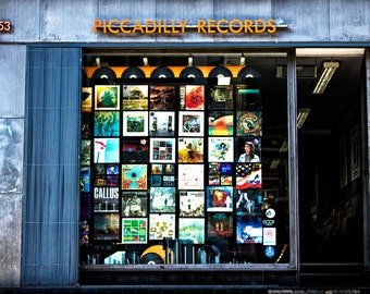 Piccadilly Records (2016). Fine art photography, Manchester, Vinyl records music shop