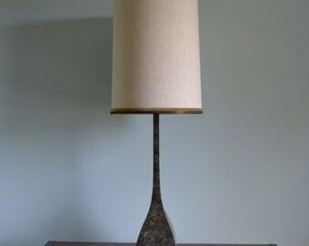 Mid Century Metal Table Lamp