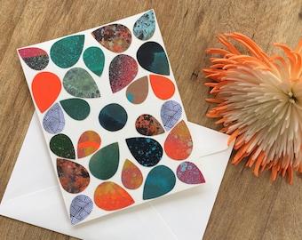 Handmade Blank Card with Envelope