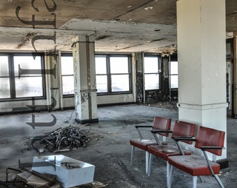 Abandoned Stambaugh building in Youngstown, OH