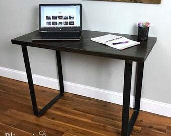 Industrial Steel Leg Desk, Computer Desk, Office Desk, Work Area