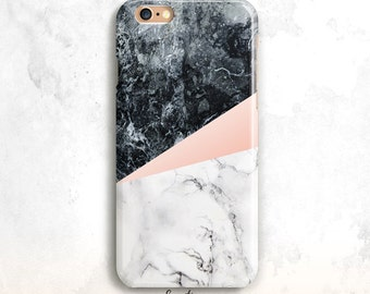 Marble iPhone 7 Case, iPhone 6S Case, White and Black Marble iPhone SE Case, iPhone 6 Plus, iPhone 5S,White Marble iPhone 6 Case, iPhone 7