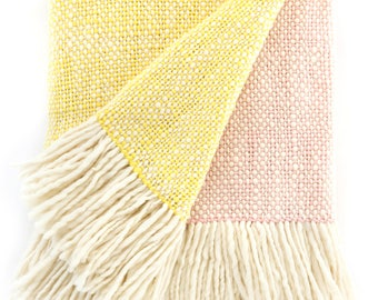 DUO Blankets Yellow and Pink