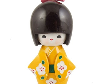 From Japan Kokeshi Traditional Wooden Doll