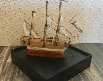 miniature dollhouse ship