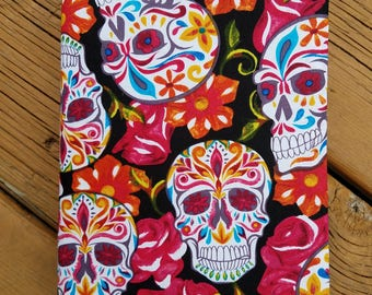 Big Book Cover - AA - Sugar Skulls 4