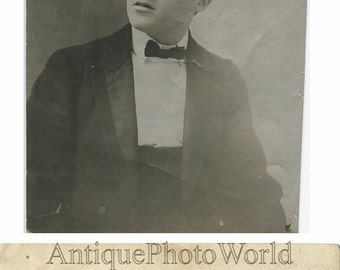 Gino Severi violin player antique music photo