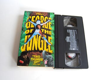 Retro VHS Tape, Disney's George of the Jungle