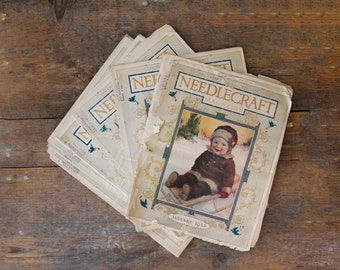 Vintage Needle Craft Magazines from 1925