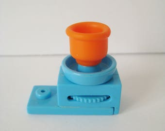 Polly Pocket Potters Wheel for Dream Builders Mansion Art Studio Bluebird Pop Miniature Accessory Toy Clean USED