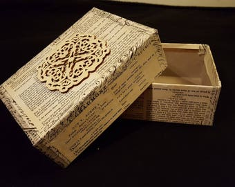 Lace Treasure Box