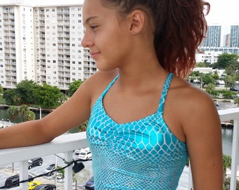 Tankini Mermaid Top (To match your mermaid tail)
