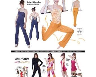 Jalie Pattern 2916 - 22 sizes