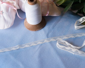 "French Valenciennes Lace- (LFV38EDG036)3/8"" edging"